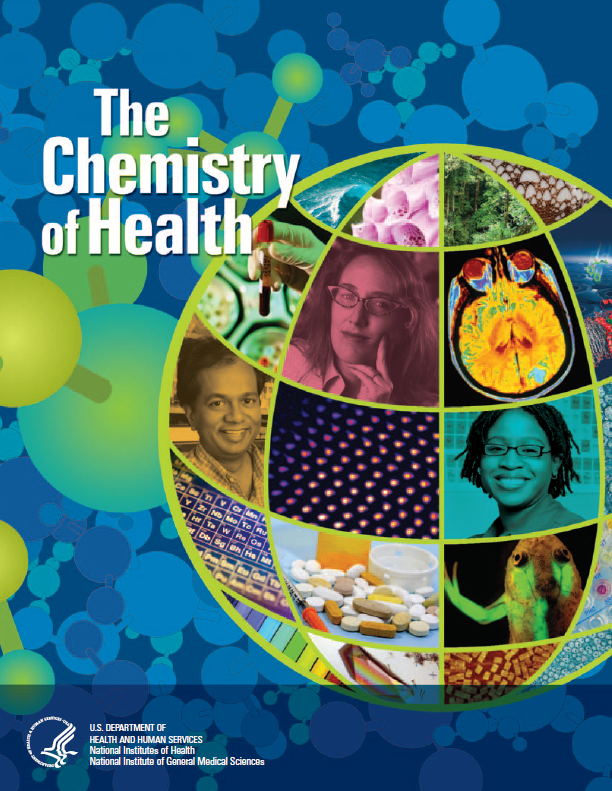 The cover of The Chemistry of Health booklet.