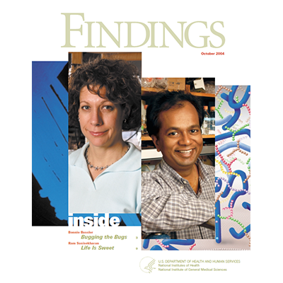 Findings Magazine Cover, October 2004.