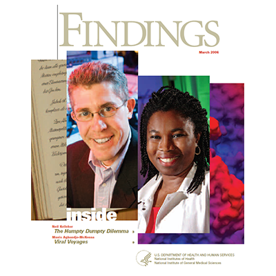 Findings Magazine Cover, March 2006.