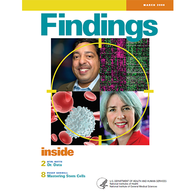 Findings Magazine Cover, March 2008.